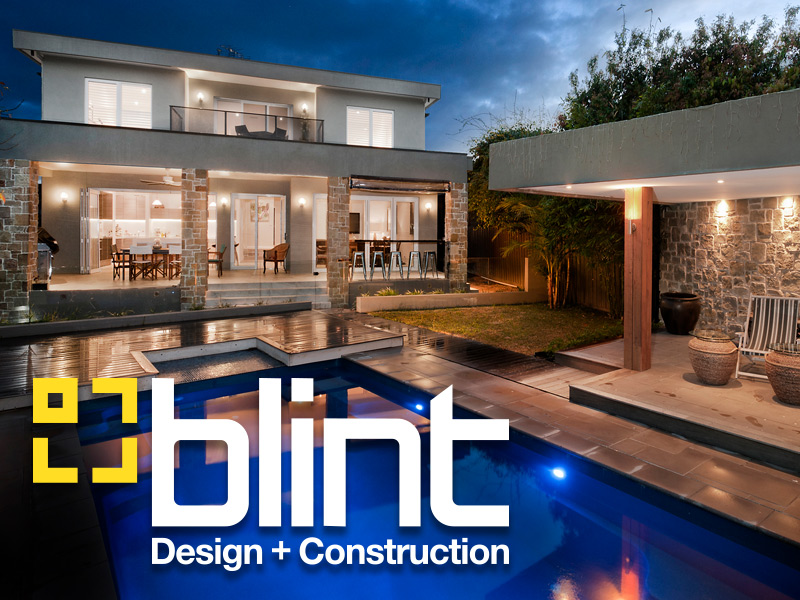 Logo and Branding Design for Blint Design and Construction
