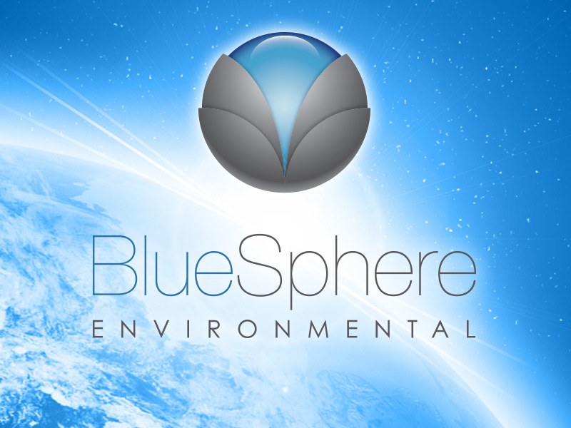 Logo and Branding Design for Bluesphere Environmental