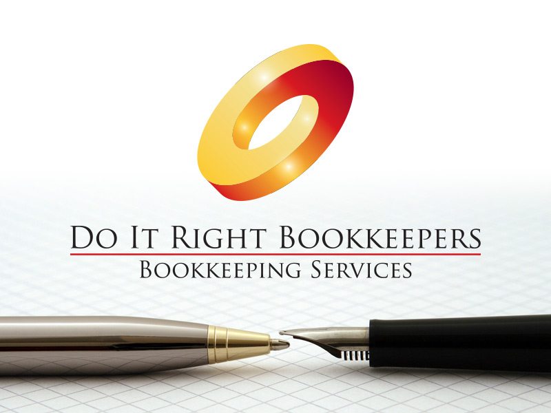 Logo and Branding Design for Do It Right Bookkeeping Services
