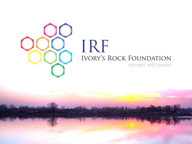 Logo and Branding Design for Ivorys Rock Foundation