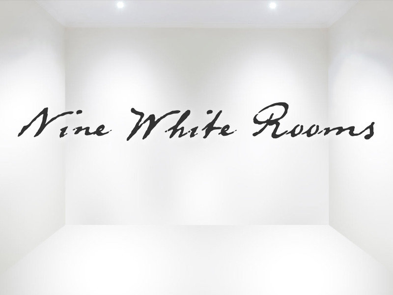 Logo and Branding Design for Nine White Rooms virtual art gallery