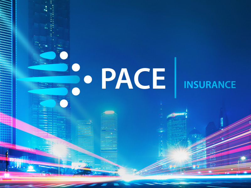 Logo and Branding Design for Pace Insurance