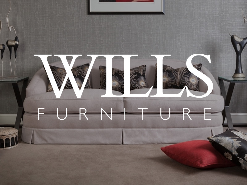 Logo and Branding Design for Wills Furniture