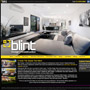 Blint Design and Construction website by MBC