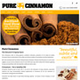 Pure Cinnamon Website by MBC