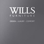20 page Catalogue design for Wills Furniture